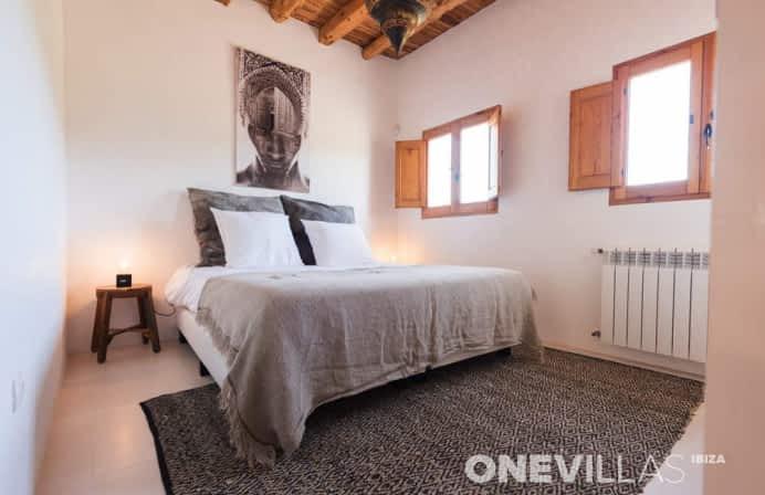Comfortabele Ibiza villa met mooi interieur voor 8 personen