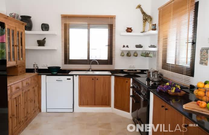 keuken van villa amalia