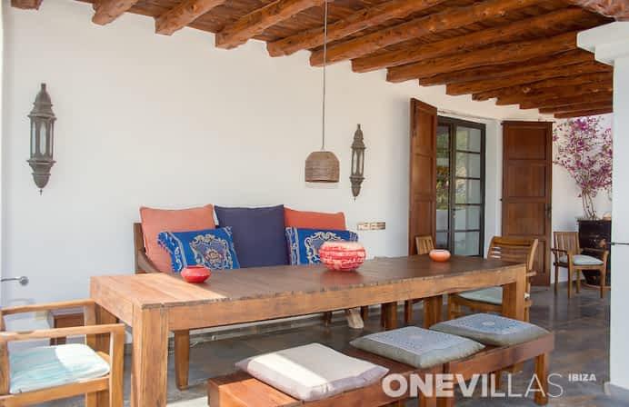 Gezellig zitje bij luxe villa