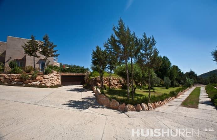 panorama foto villa can lago